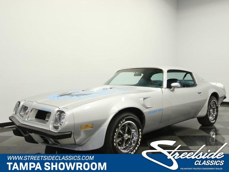 For Sale: 1975 Pontiac Trans Am