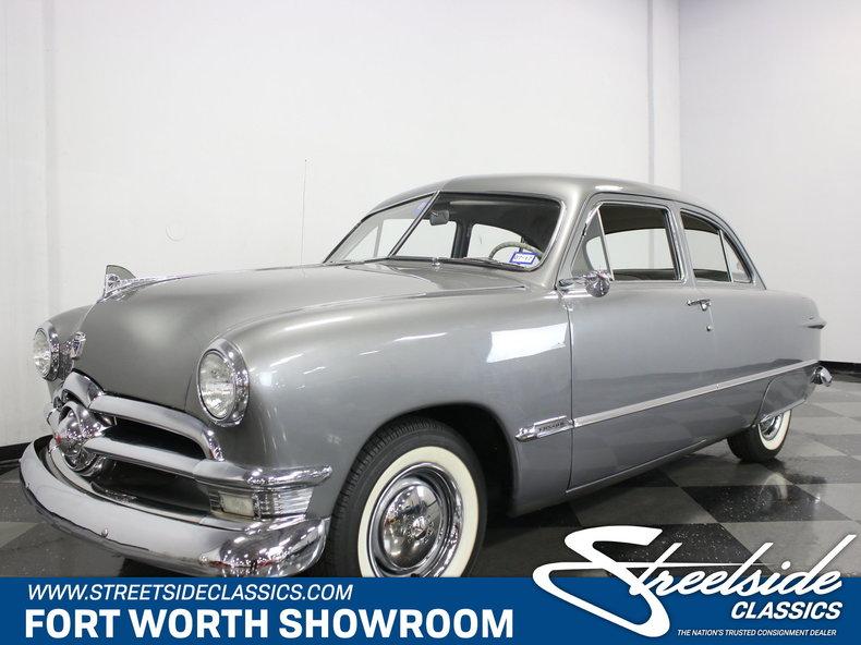 For Sale: 1950 Ford Custom Sedan
