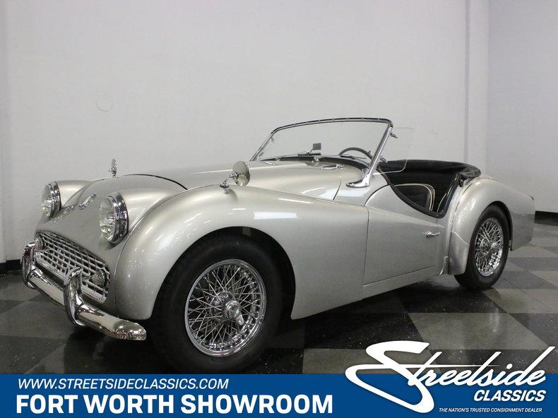 For Sale: 1959 Triumph TR3