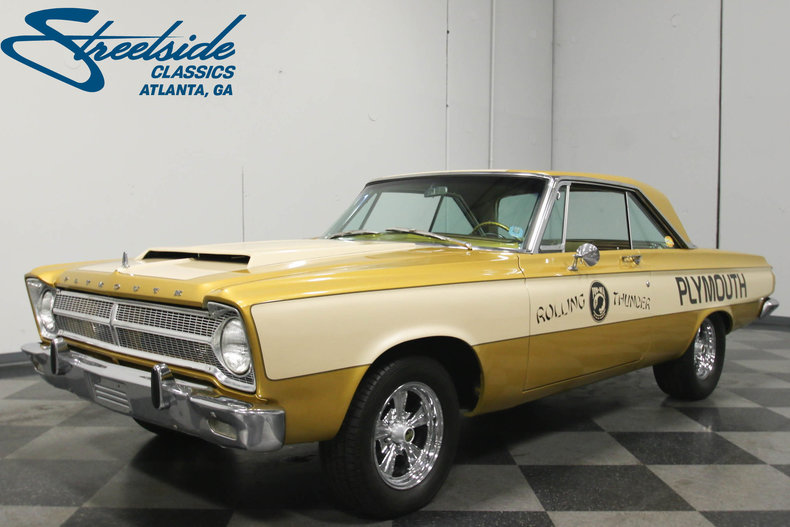 For Sale: 1965 Plymouth Belvedere