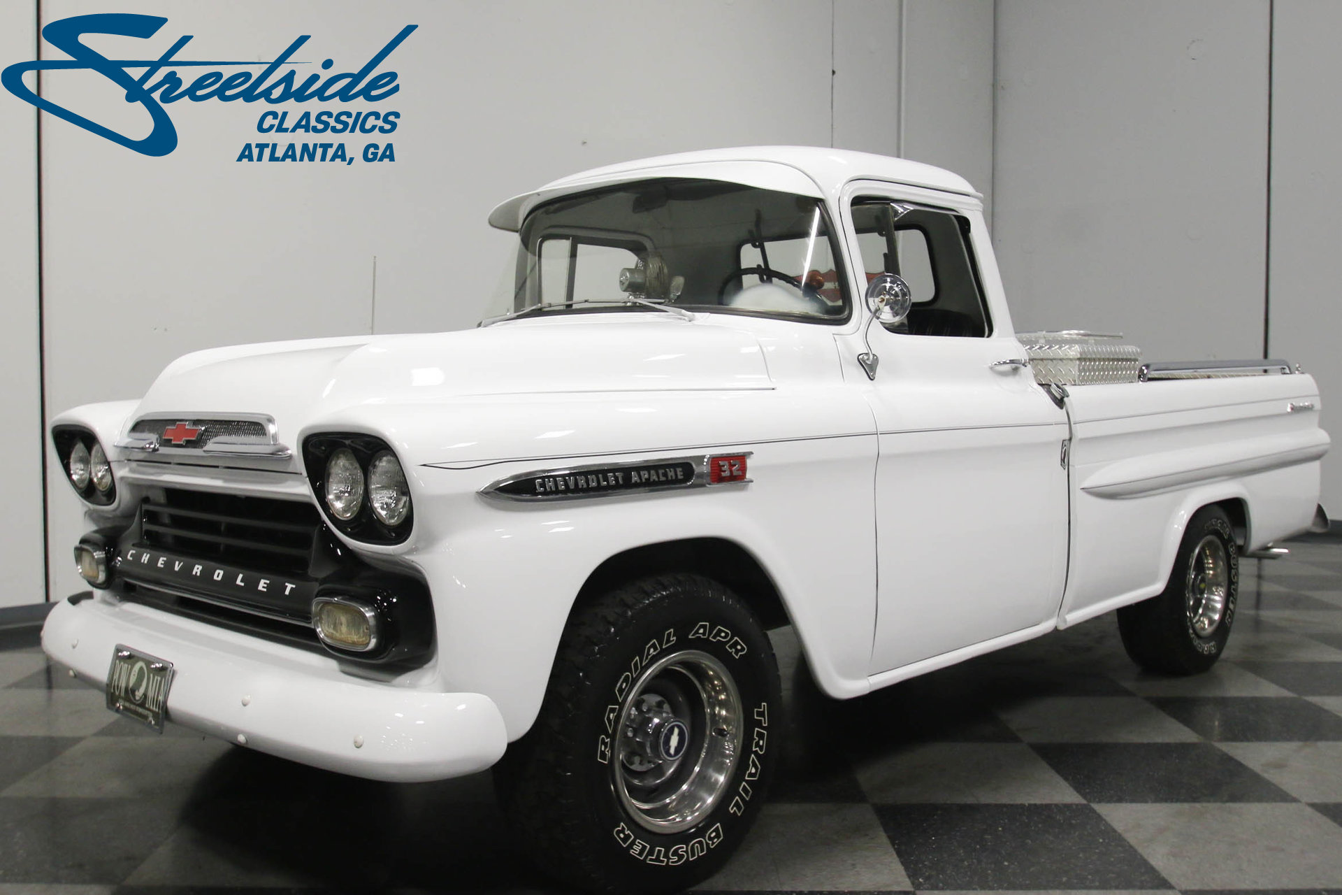 1959 Chevrolet Apache | Streetside Classics - The Nation\'s Trusted ...