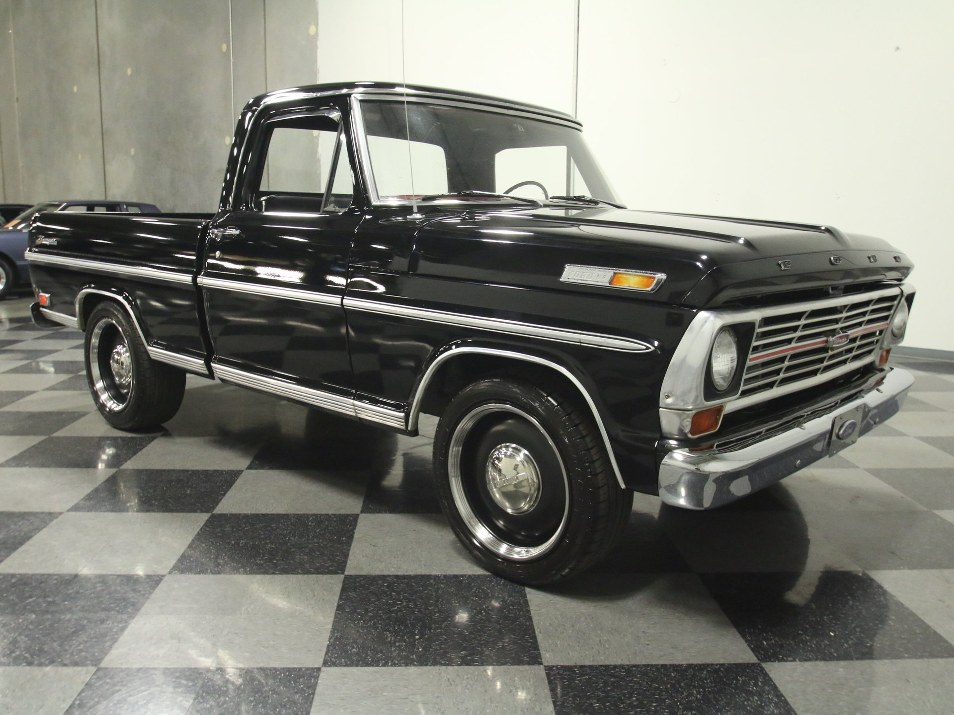 1969 Ford F 100 Streetside Classics The Nations Trusted Classic 1955 F100 Heater View 360