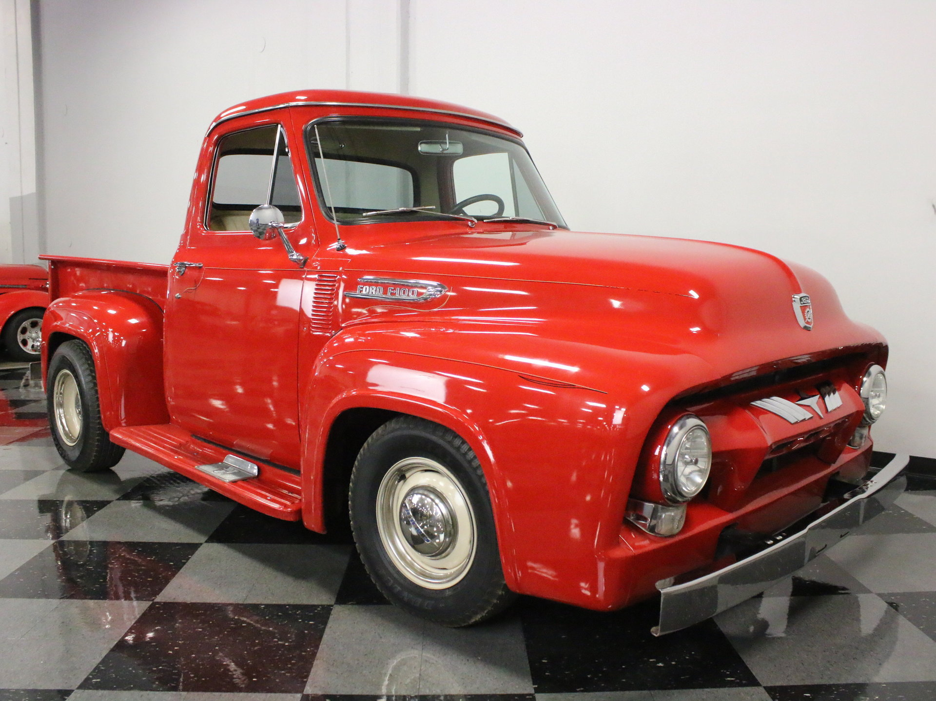 1954 Ford F 100 Streetside Classics The Nations Trusted Classic F100 Pickup Truck View 360