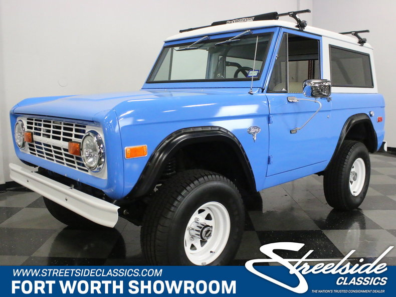 For Sale: 1971 Ford Bronco