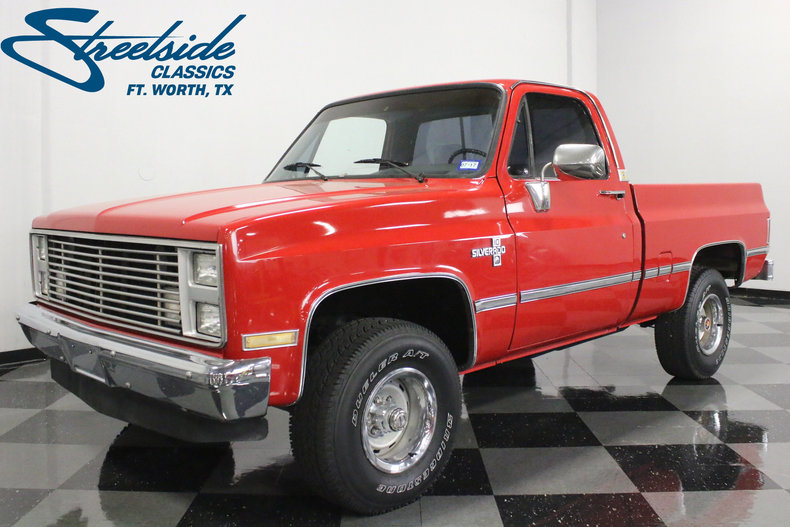 For Sale: 1987 Chevrolet K-10