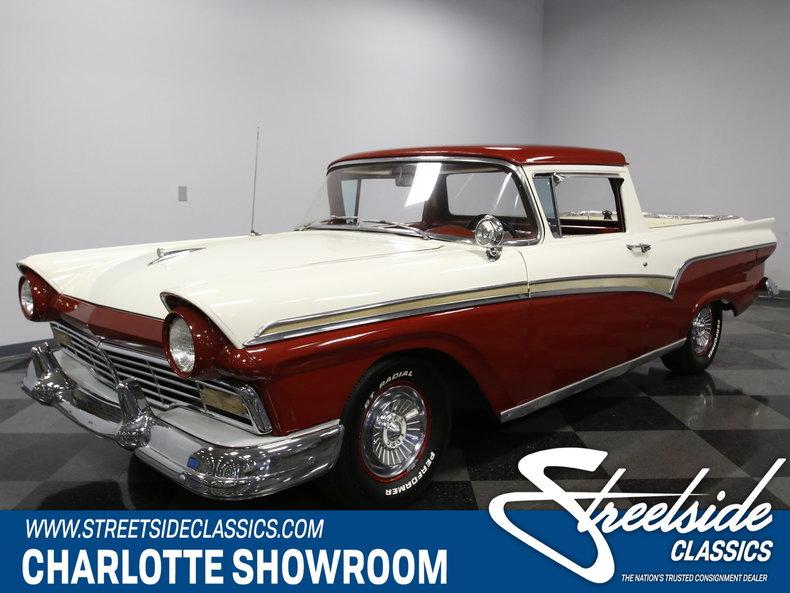1957 ford ranchero streetside classics classic exotic car consignment dealer