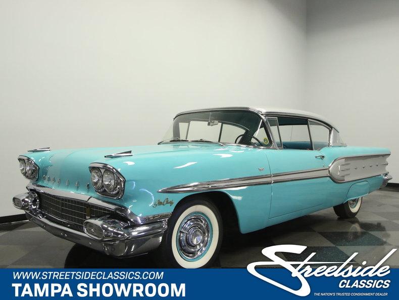 For Sale: 1958 Pontiac Star Chief
