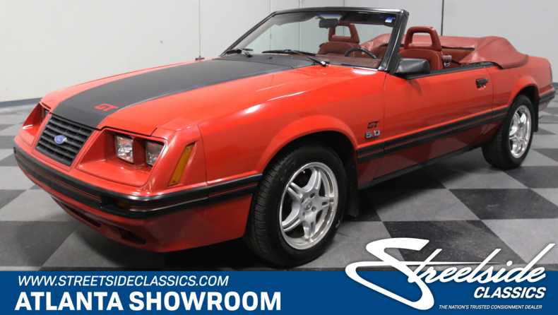 For Sale: 1984 Ford Mustang