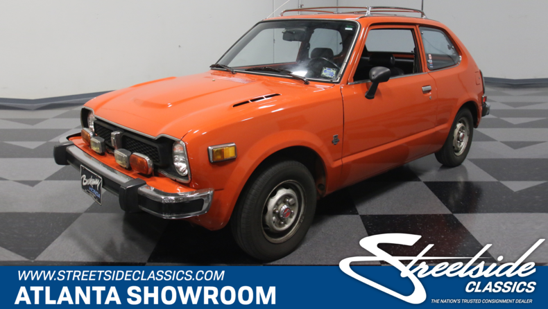 For Sale: 1976 Honda Civic