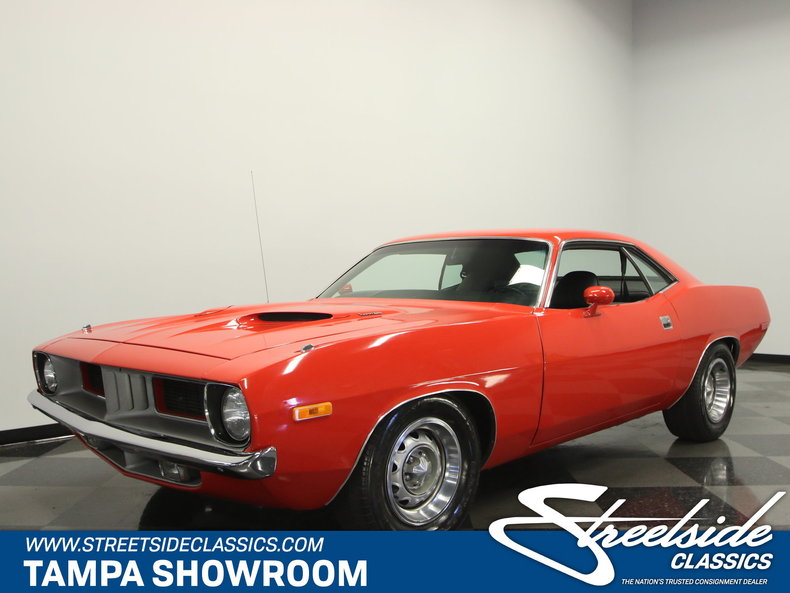 For Sale: 1972 Plymouth Barracuda