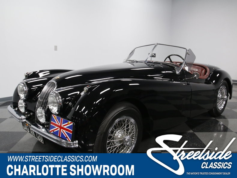 For Sale: 1954 Jaguar XK-120