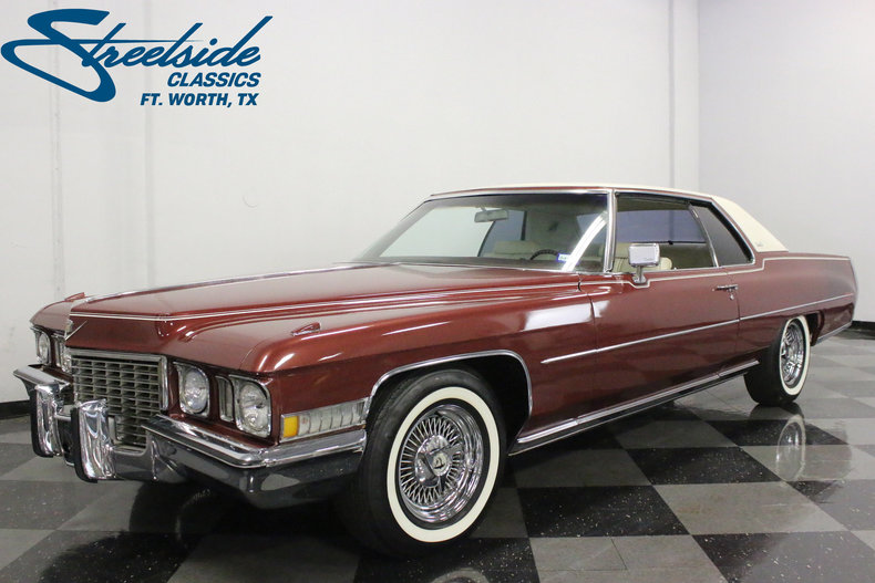 For Sale: 1972 Cadillac Coupe DeVille