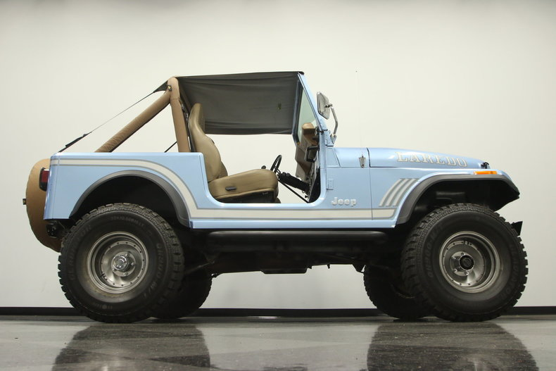1985 jeep cj7 laredo for sale 51174 mcg. Black Bedroom Furniture Sets. Home Design Ideas