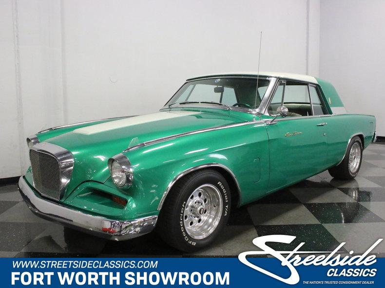 For Sale: 1962 Studebaker Gran Turismo