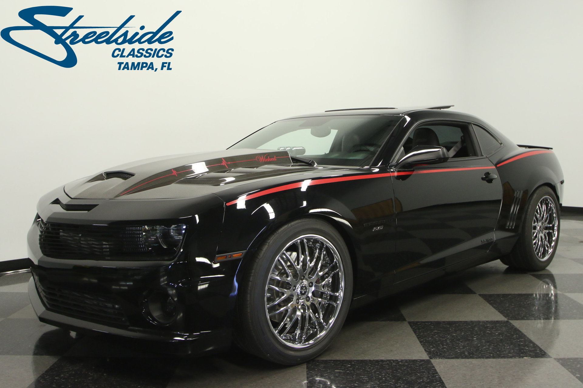 2010 chevrolet camaro ss supercharged for sale 49295 mcg. Black Bedroom Furniture Sets. Home Design Ideas