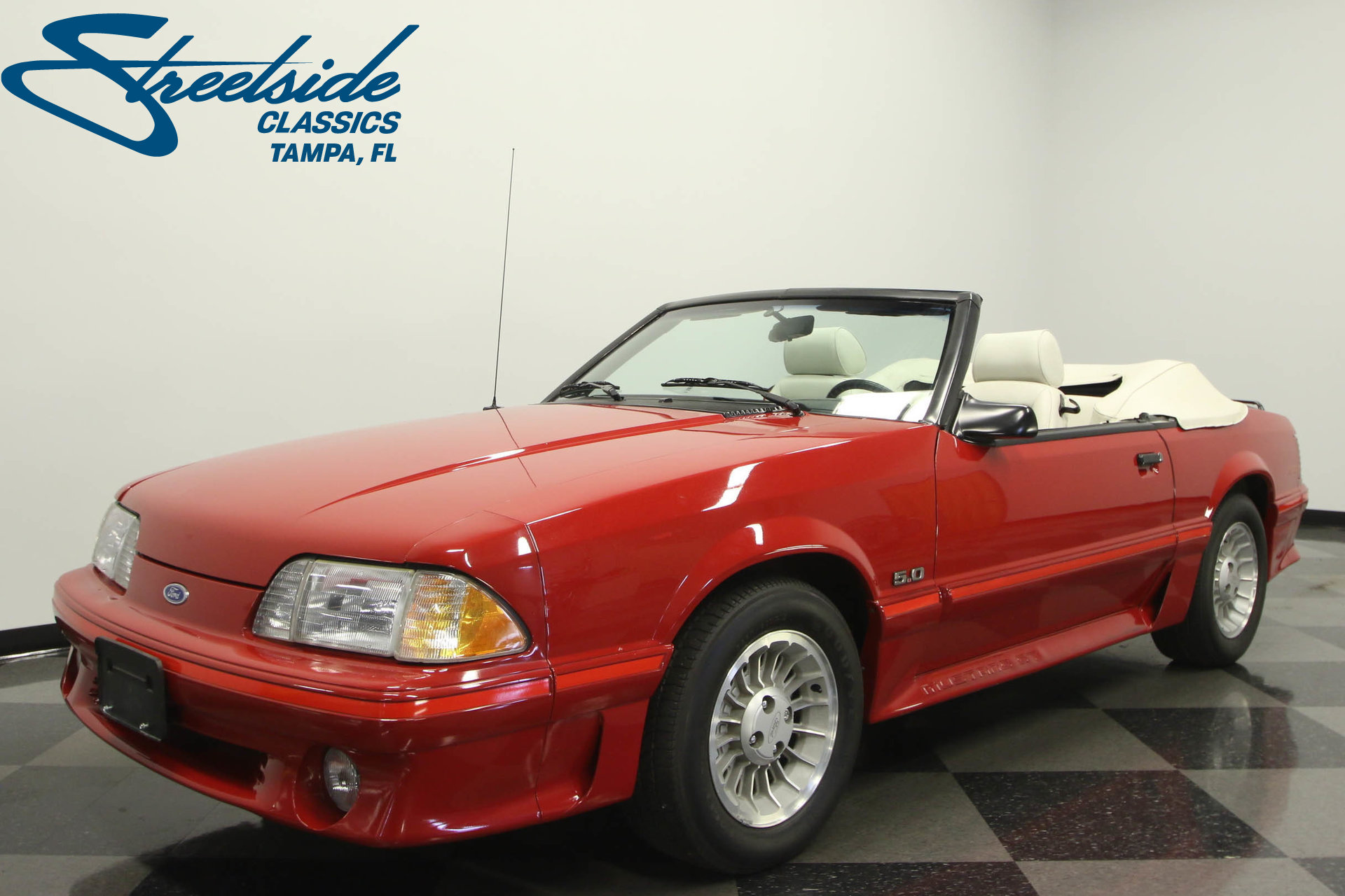 1987 ford mustang gt convertible for sale 73830 mcg. Black Bedroom Furniture Sets. Home Design Ideas