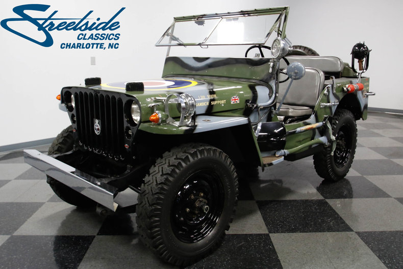 For Sale: 1945 Willys MB