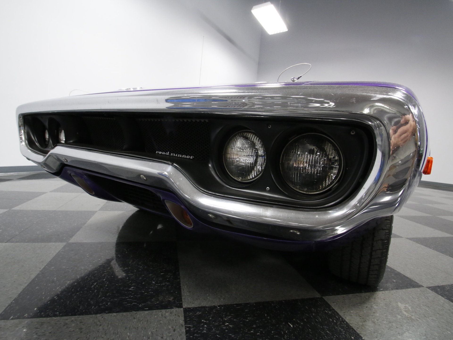 1972 Plymouth Road Runner Streetside Classics The Nations Engine Bay Diagram View 360