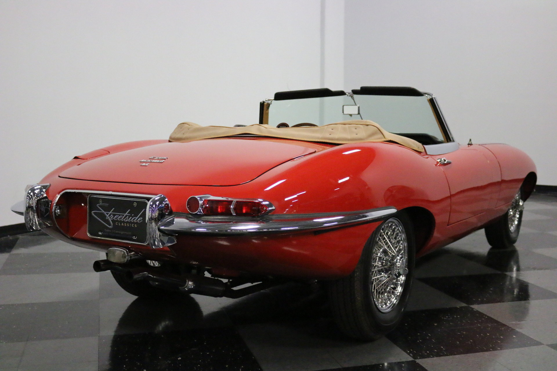 1967 Jaguar E-Type XKE Roadster for sale #50054 | MCG
