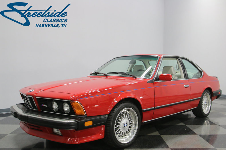 For Sale: 1987 BMW M6