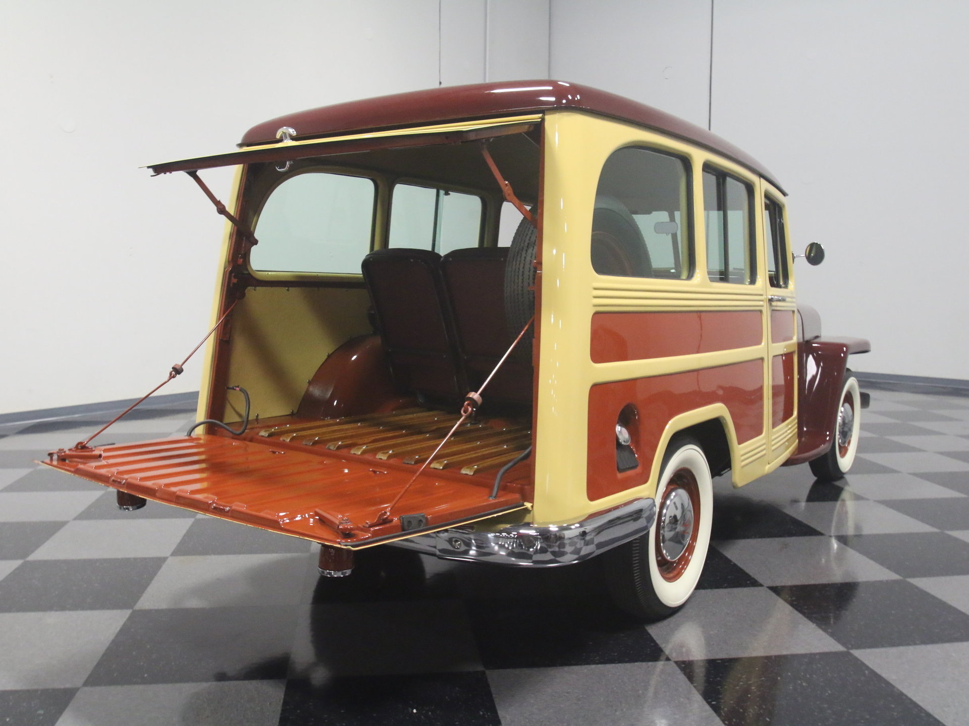 1950 Willys Station Wagon : DOCUMENTED BUILD, SHOW-WINNER, NUT & BOLT RESTO, HURRICANE I4, MANUAL, A++!!