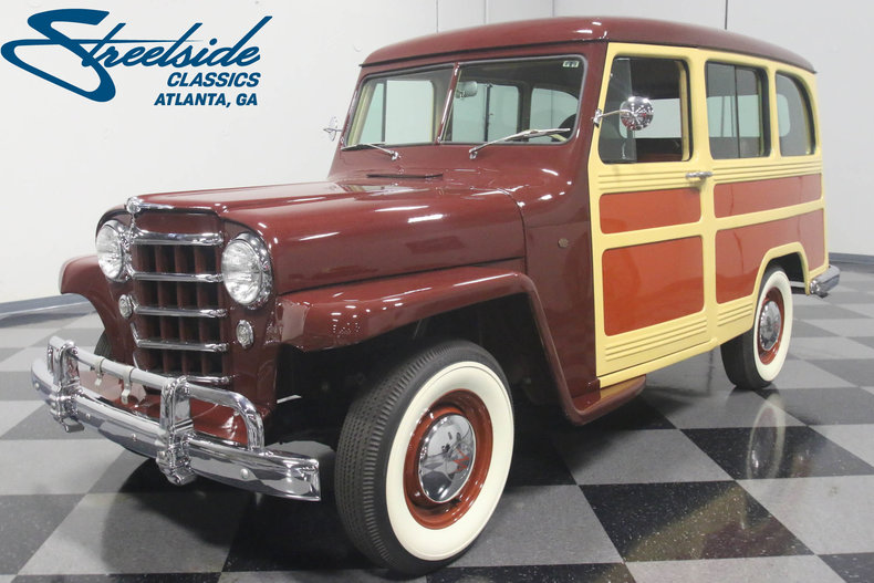 For Sale: 1950 Willys Station Wagon