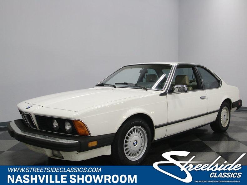 For Sale: 1986 BMW 635csi
