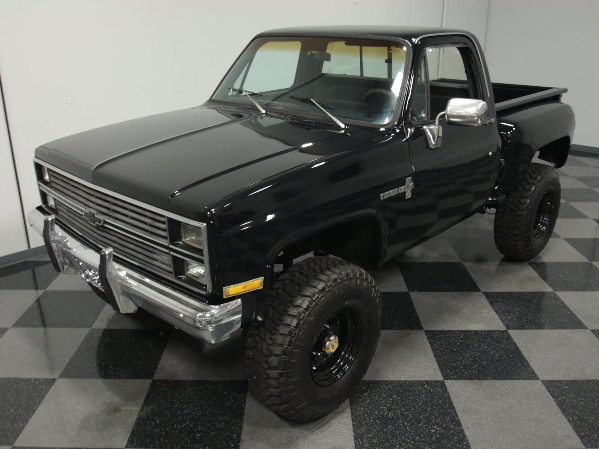 1976 Chevrolet K 10 Streetside Classics The Nations Trusted Chevy Truck 4x4 View 360