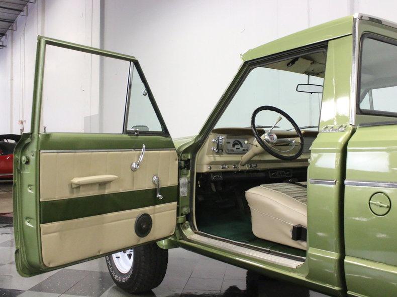 1972 jeep j series 2000 custom cab for sale 64690 mcg. Black Bedroom Furniture Sets. Home Design Ideas