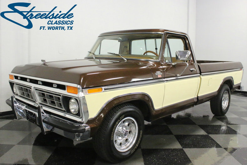 Ford F150 1969 >> 1977 Ford F-150 | Streetside Classics - The Nation's Trusted Classic Car Consignment Dealer
