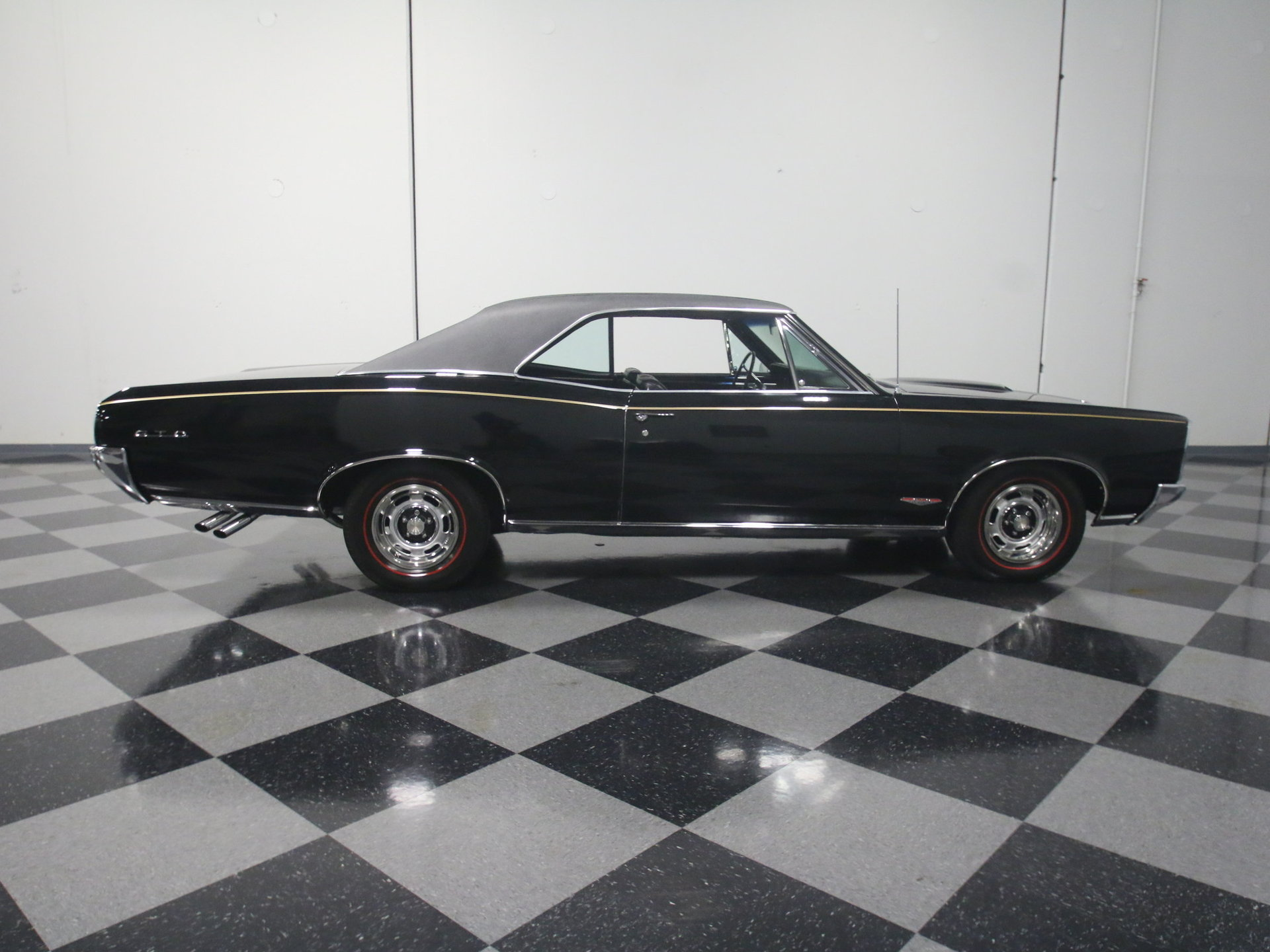 1966 Pontiac Gto For Sale 73088 Mcg 1965 Tripower 4speed Starlight Black With