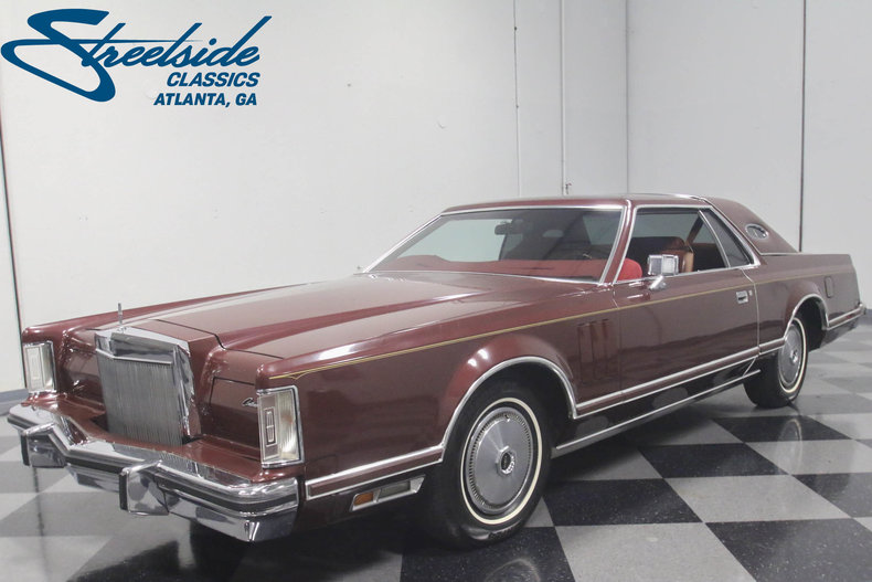 For Sale: 1977 Lincoln Continental