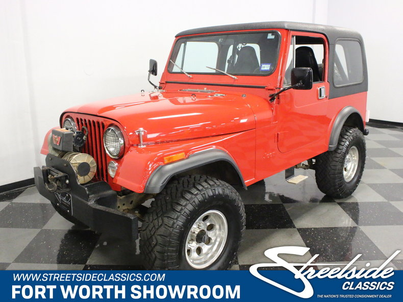 For Sale: 1983 Jeep CJ7