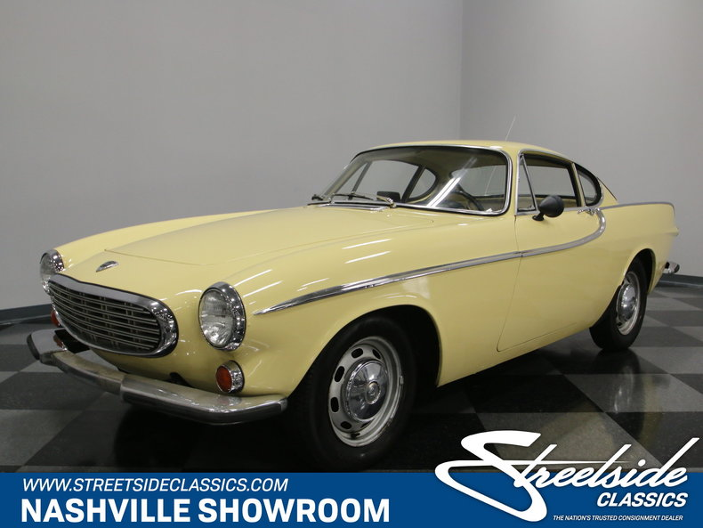For Sale: 1966 Volvo P1800S