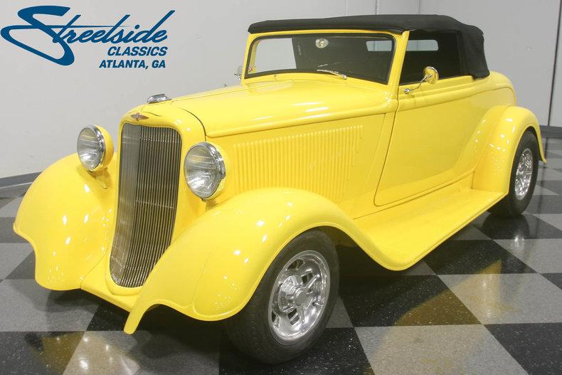 For Sale: 1933 Dodge Cabriolet