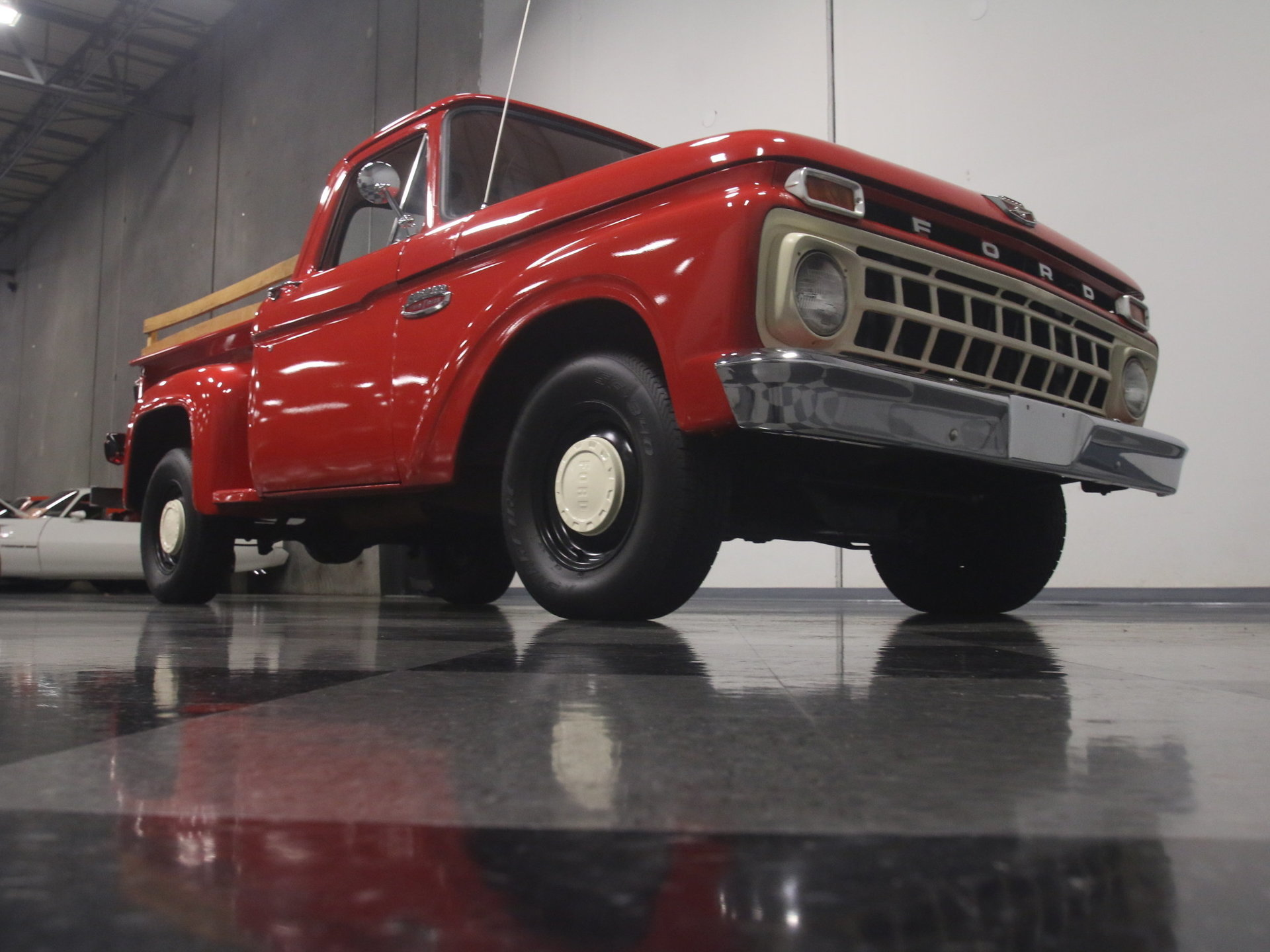 1965 Ford F 100 Streetside Classics The Nations Trusted Classic 1955 F100 Spare Tire Carrier Show More Photos