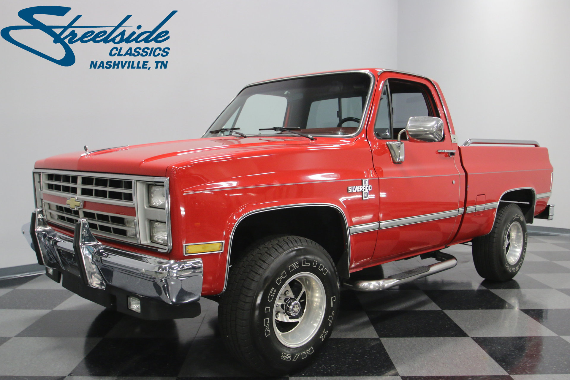 1985 chevrolet silverado 1500 4x4 for sale 52554 mcg. Black Bedroom Furniture Sets. Home Design Ideas