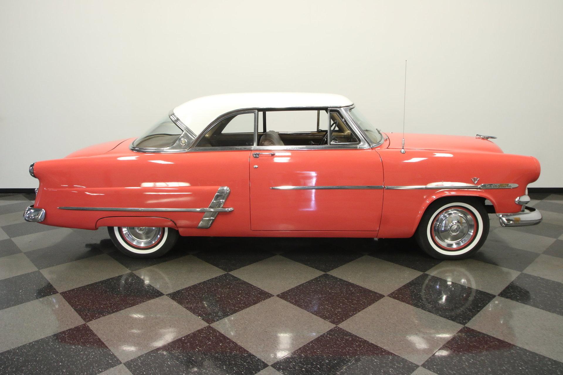 1953 ford crestline victoria for sale 53665 mcg. Black Bedroom Furniture Sets. Home Design Ideas