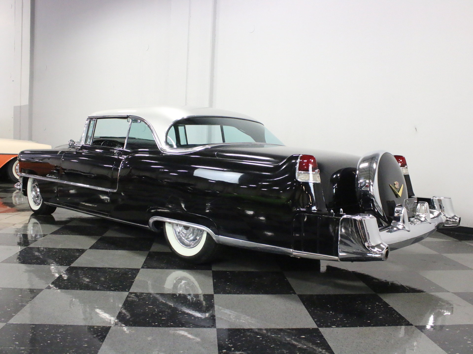 1955 Cadillac Series 62 Streetside Classics The Nations Trusted Coupe Deville Convertible View 360