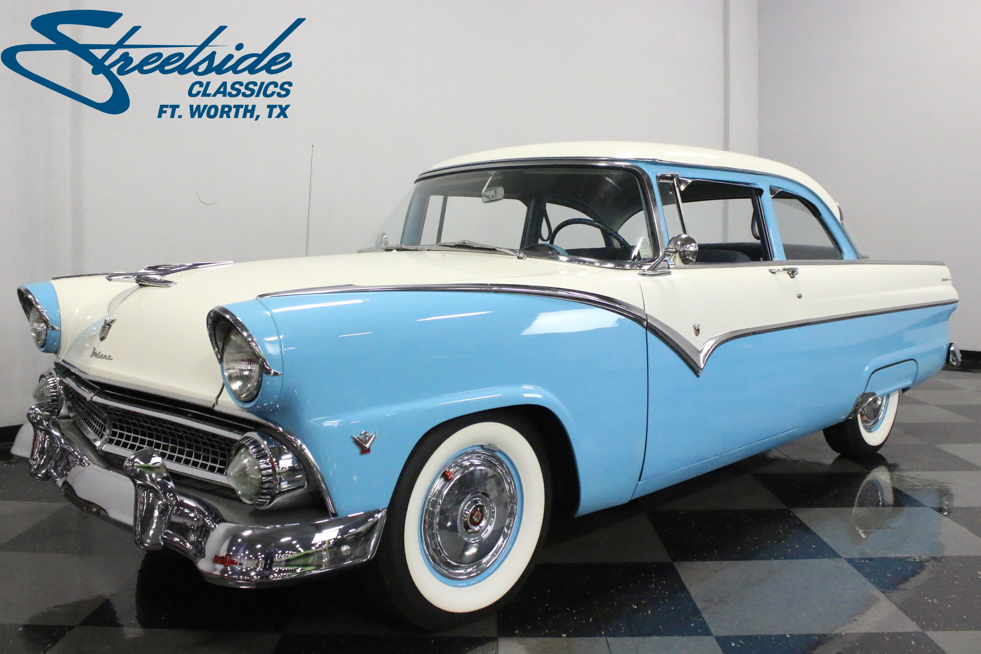 Chevy Dealer Tampa >> 1955 Ford Fairlane | Streetside Classics - The Nation's Trusted Classic Car Consignment Dealer