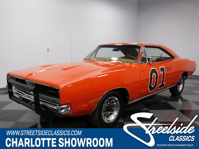 Classic Dodge Charger General Lee