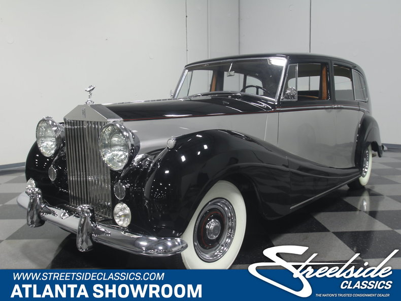 For Sale: 1956 Rolls-Royce Silver Wraith