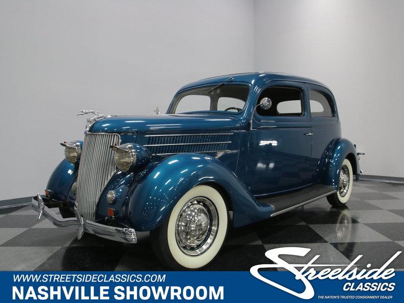 1936 Ford Slant Back Sedan