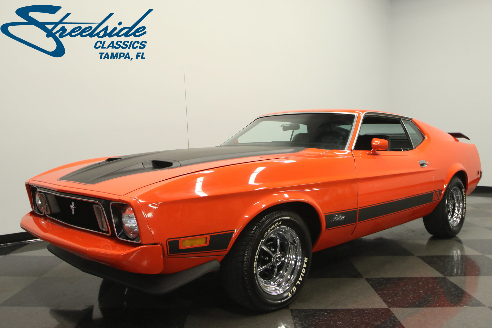 1973 ford mustang mach 1 for sale 53654 mcg. Black Bedroom Furniture Sets. Home Design Ideas