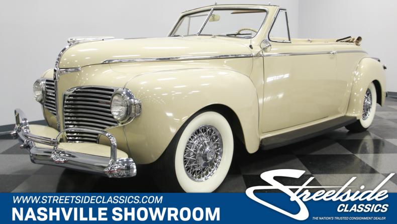 For Sale: 1941 Dodge Luxury Liner