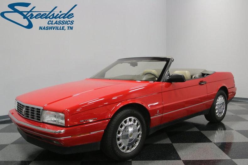 1993 cadillac allante streetside classics the nation s trusted rh streetsideclassics com 1993 cadillac allante service manual 1993 Cadillac DeVille