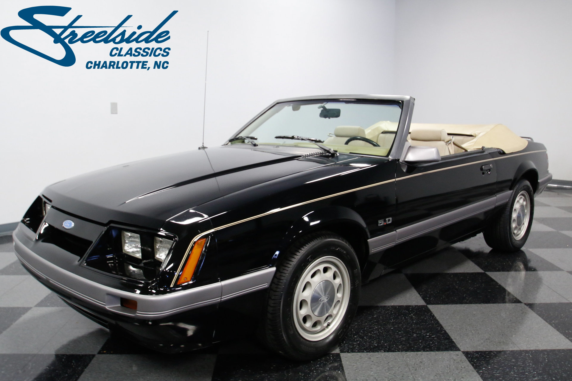 1986 ford mustang streetside classics the nation 39 s trusted classic car consignment dealer. Black Bedroom Furniture Sets. Home Design Ideas