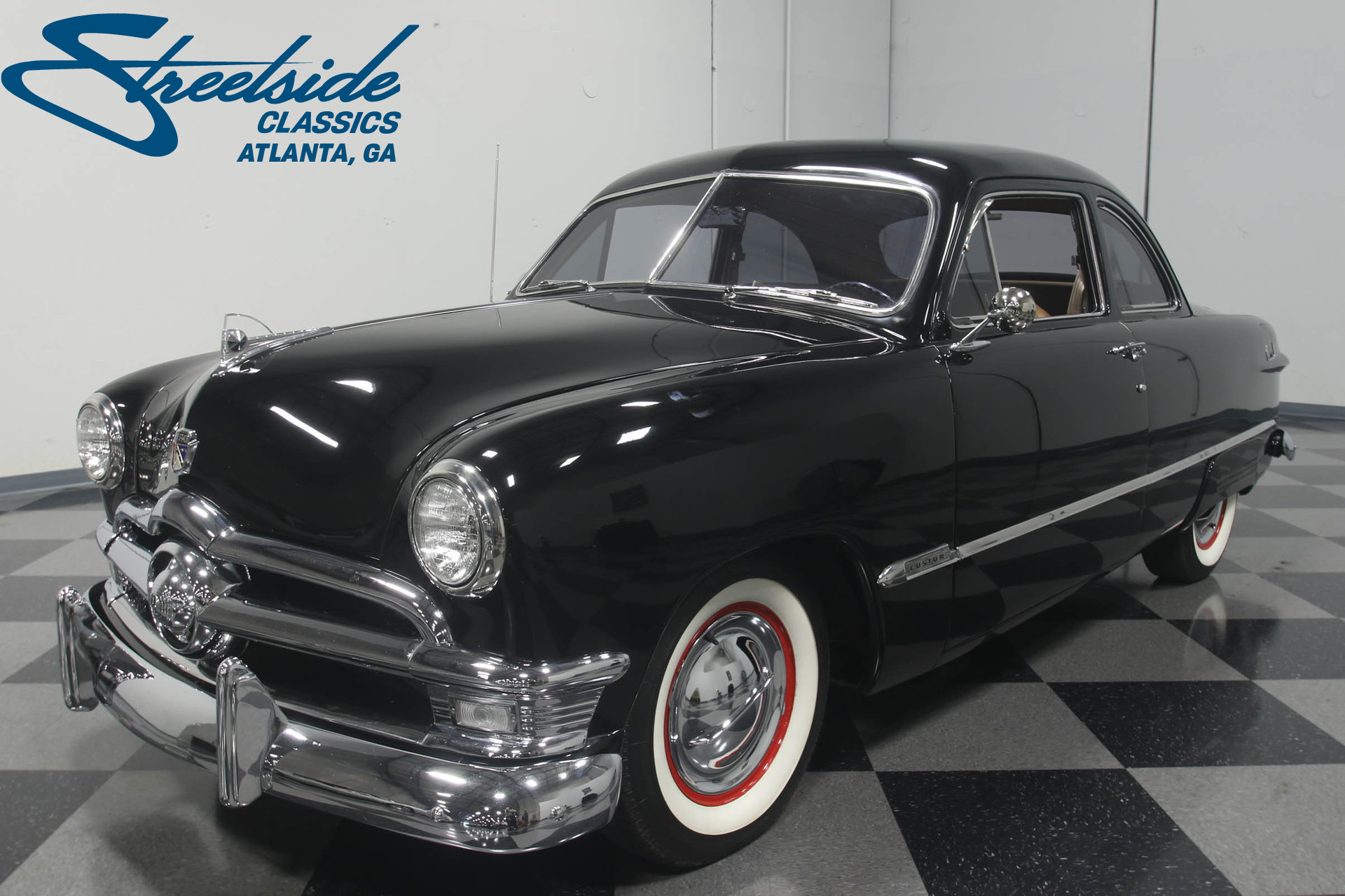 1950 ford custom streetside classics the nation 39 s. Black Bedroom Furniture Sets. Home Design Ideas