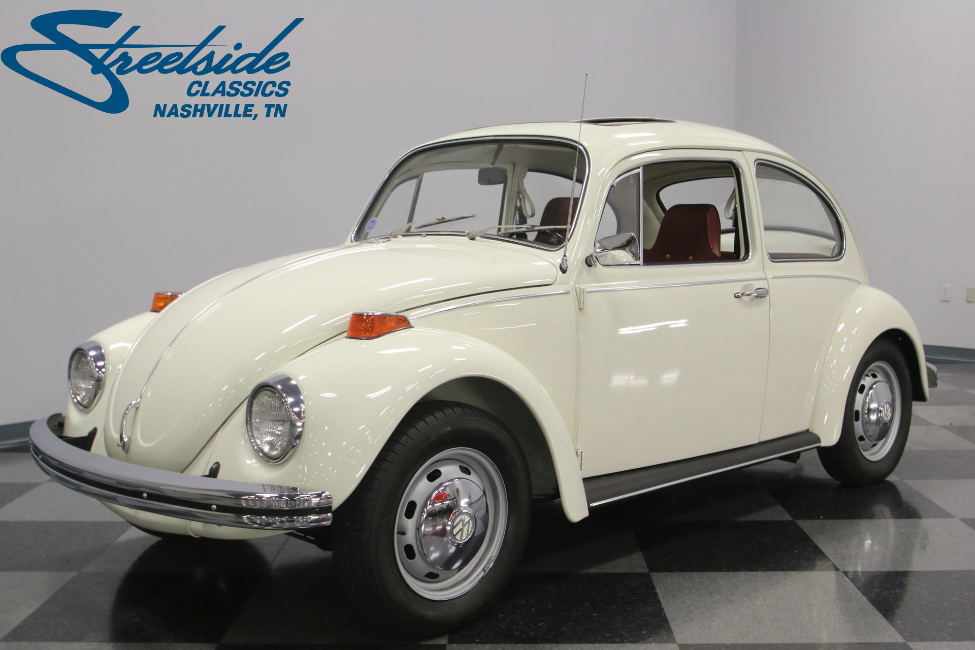 1970 volkswagen beetle streetside classics the nation 39 s trusted classic car consignment dealer. Black Bedroom Furniture Sets. Home Design Ideas
