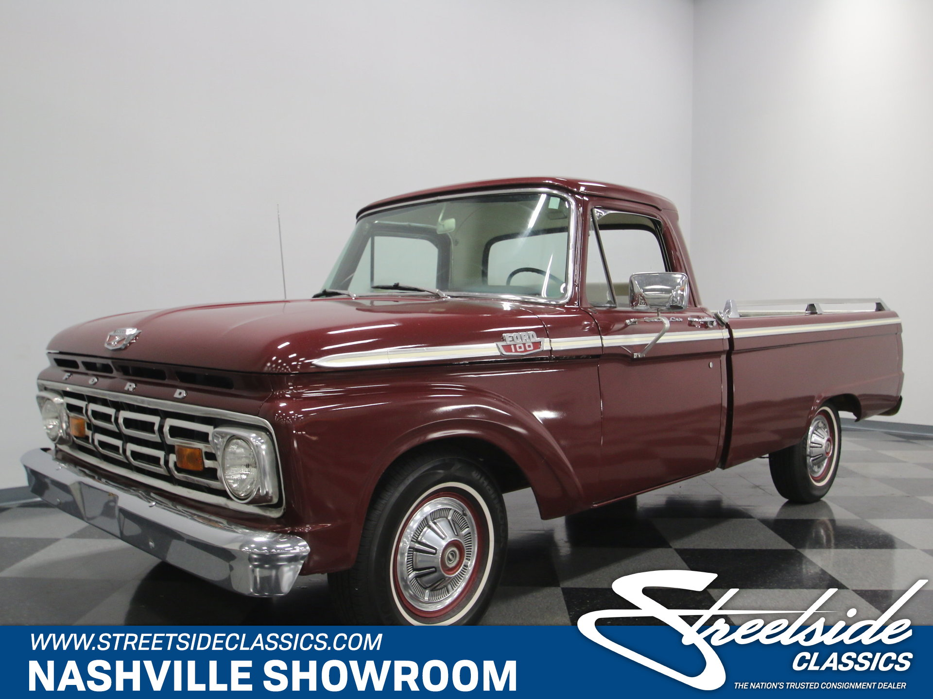 1964 Ford F 100 For Sale 65717 Mcg Pickup Truck